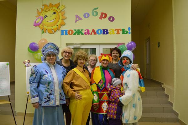 """Открытие детского сада """"Улыбка"""""""