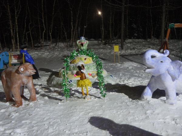 Зимняя сказка в Жемчужинке