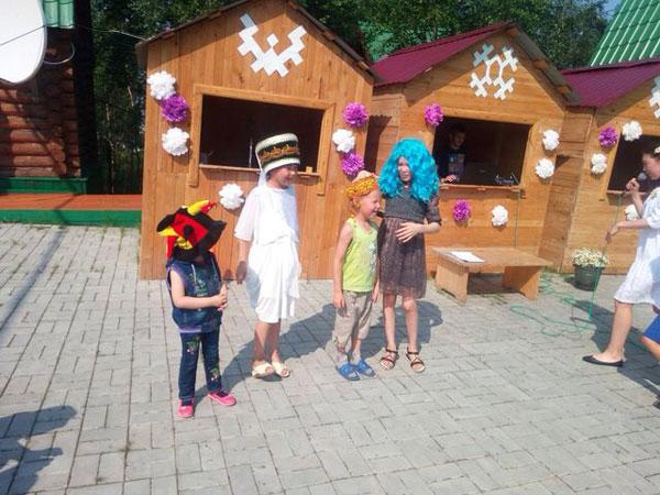Лагерь в Горнокнязевске