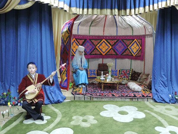 Казахский обряд «Науруз»