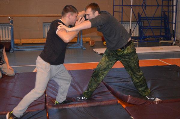 О смене профильного военно-спортивного лагеря