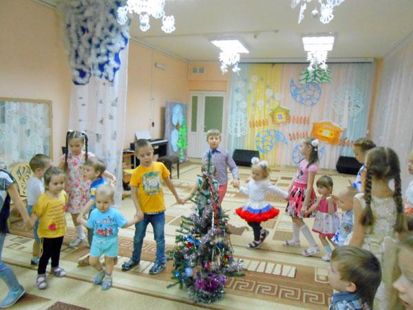 Шефская работа в детском саду