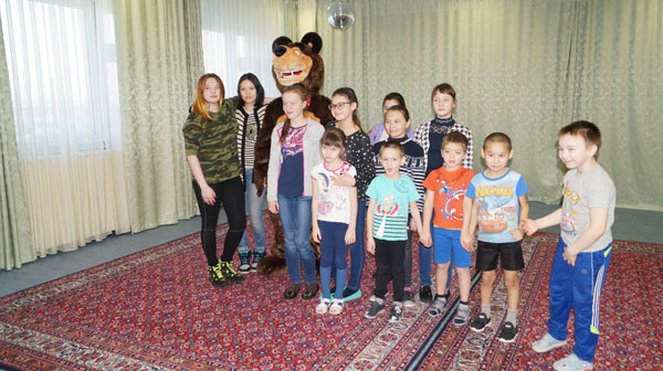 Волонтеры школы Белоярск