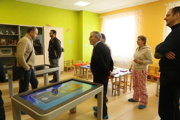 Немецкая делегация в гостях у МДОУ «Радуга»