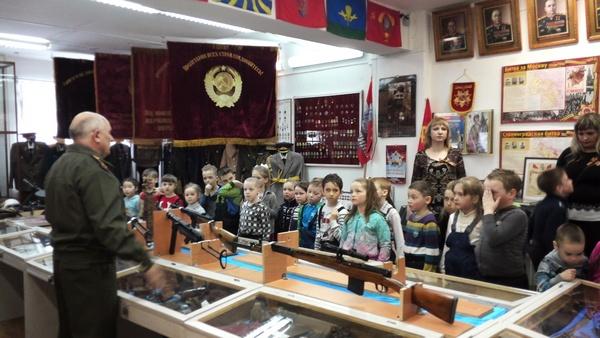 Дошкольники в музее