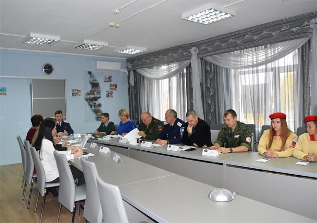Заседание штаба ЮнАрмии