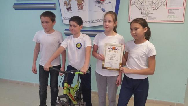 «Безопасное колесо» в МОУ Школа с. Белоярск