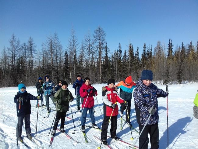 Соревнования по бегу на лыжах