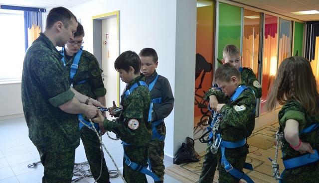 Cлёт воспитанников Центра военно-патриотического воспитания ЛИСА