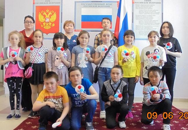 День России в лагере «Цветик - семицветик»!